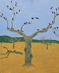 peach orchard painting