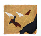 paintings of chickens