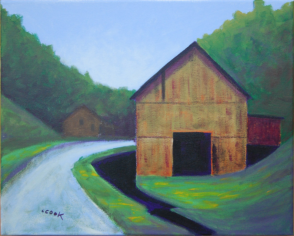 georgia artist with a southern regionalist flair - chris cook