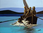 bible story painting