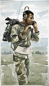 southern artists vietnam war paintings