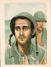 vietnam war paintings-southern artists