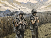 vietnam war paintings portrait painting