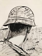 vietnam war paintingsby georgia artist