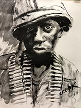 georgia artists vietnam war paintings