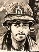 vietnam war paintings-georgia artists
