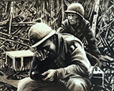 vietnam war paintings-despire